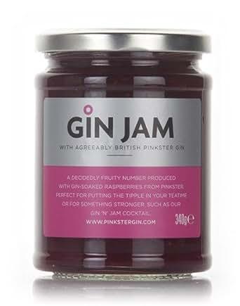 Pinkster Gin Jam Food