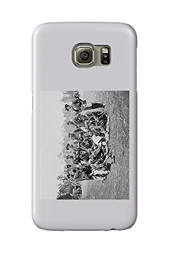 Fair Oaks, VA - Officers of the Horse Artillery Civil War Photograph (Galaxy S6 Cell Phone Case, Slim Barely There)