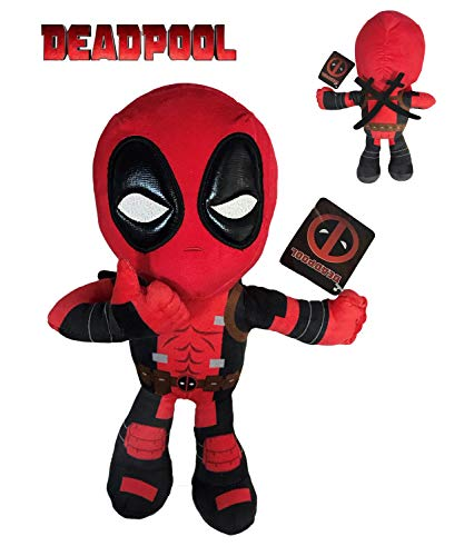 "Marvel - DeadPool plush toy Posture hand OK 12'59""/32cm"