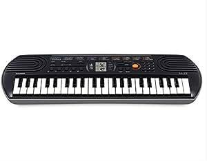 Casio SA-77A 44-Key Mini Keyboard, Black