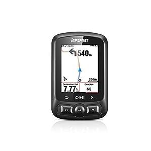 """iGS618 (versión española) - Ciclo computador grabador datos y rutas GPS+GLONASS+Beidou. Navegación y seguimiento. Pantalla 2.2"""" color. ANT+ Detección de movimiento Alarmas Compatible Strava"""