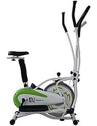 ES913D Olympic 11 Cross Trainer Bike - Green/White