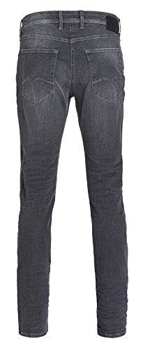 MAC Herren Straight Jeans Macflexx Grau