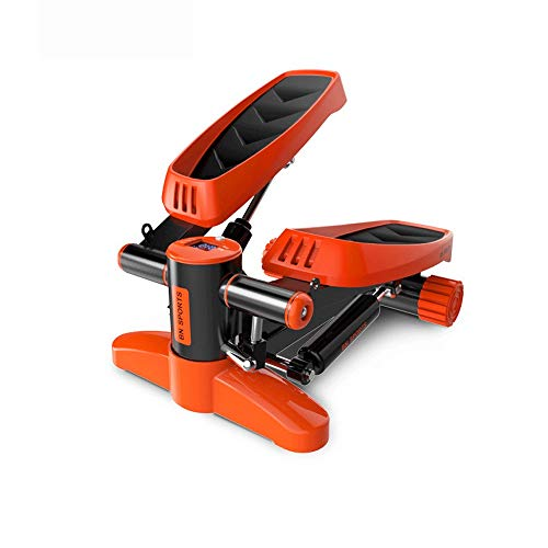 Yamyannie-Fitness Air Stepper Verstellbarer Twist Stepper mit hydraulischem Widerstand (Farbe : Orange, Größe : Casual Size)