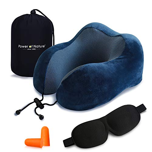 Cuscino da viaggio memory foam – The Best a forma di U collo cuscino con 360 Head &...