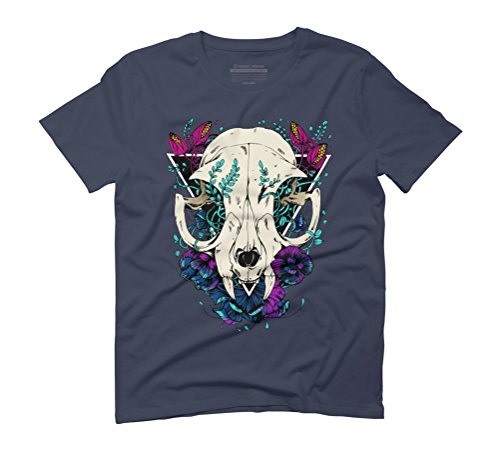Felis Men's Graphic T-Shirt - Design By Humans Navy