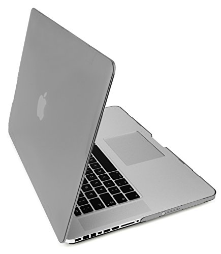 MyGadget Hülle Crystal Clear Case für Apple MacBook Pro 15