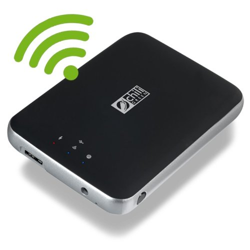 chiliGREEN ILO-MW W-LAN Festplatte (1 TB USB 3.0)