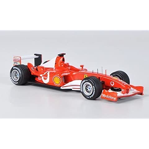 Ferrari F2003 GA, No.1, scuderia Ferrari, formula 1, GP Italia, modello di automobile, modello prefabbricato, Mattel elite 1:43 Modello esclusivamente Da Collezione
