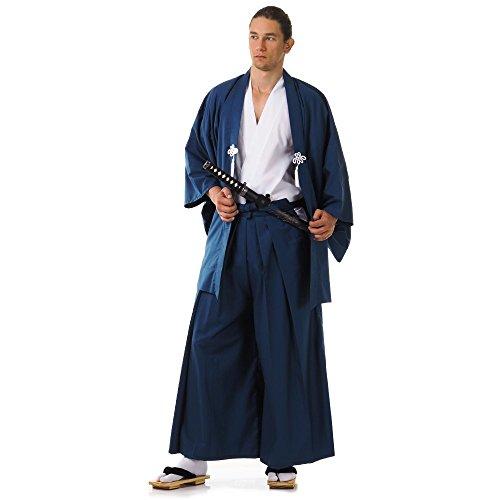 Japan Samurai Kimono Set 3 Teile Kendo Gi Hakama Haori Baumwolle