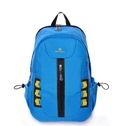 Z&N 25L Kleine KapazitäT College-Student Tasche Wasserdichte Nylon Freizeit Reise Rucksack Mode Outdoor Sport Fitness GepäCk Tasche Laptop Tasche A