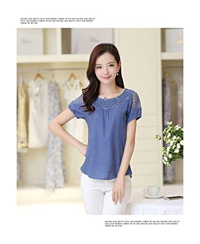 100% Cotton Plain Blank Cheap Work Short Sleeve Womens Plain T-Shirt Size S-XXL -ZIJI-BU 7 L Butterfly Womens Zip Hoodie