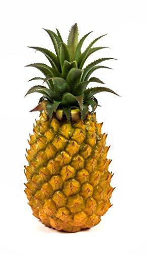 LED Ananas, Dekorations-Leuchte, Ananas-Form, 8 LEDs, batteriebetrieben, Höhe ca. 28 cm