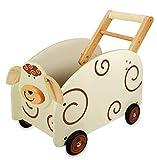 Schiebewagen / Spielzeugkiste Schaf