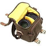 Caden N1 Appareil Photo Numérique sac à dos / toile imperméable / Sac à bandoulière Vintage / sac d'épaule / caméra bag pour Nikon Sony Canon DSLR