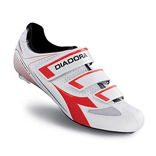 Diadora Unisex-Erwachsene Trivex Ii Radsportschuhe-Rennrad bianco