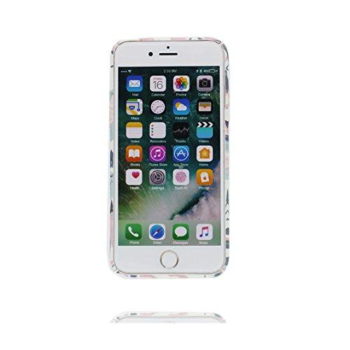 iPhone 6S Custodia, morbida guarnizione TPU in gomma antigraffio protettiva Case iPhone 6s /6 copertura 4.7 Cover [ Sottile ] [Peso leggero] [ Marmo ] # color 10