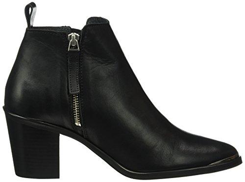 GARDENIA COPENHAGEN Damen Short Boot With Zip Both Sides Kurzschaft Stiefel Schwarz (Black 10)
