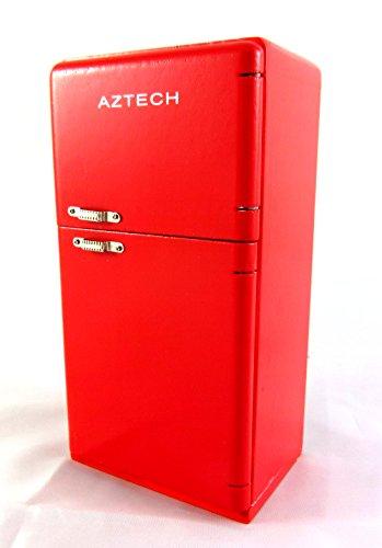 Preisvergleich Produktbild Puppenhaus Miniatur 1:12 Küche Möbel Holz 4953cms Roten Kühlschrank Kühlschrank