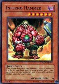 Yu-Gi-Oh.–Inferno Hammer (cmc-en002)–Kapsel Monster Coliseum PS2Promo–Promo Edition–Super Rare von Yu-Gi-Oh. (Ps2 Konami)