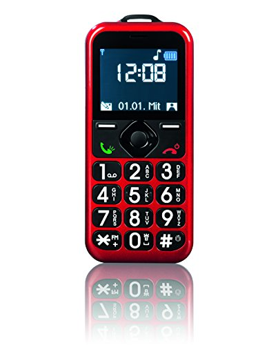 TV Unser Original 01234 EASYmaxx Handy rot