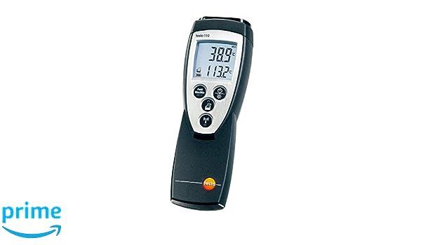 Testo temperaturmessgerät materialtemperatur 110: amazon.de