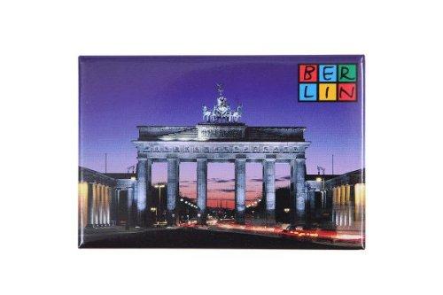 Magnet Brandenburger Tor mit Berlin-Logo