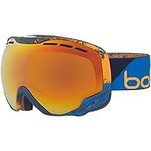 Bollé Emperor Sunrise Gafas, Hombre, Navy/Orange Zenith, Medium