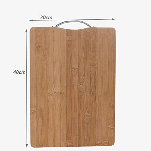 Schneidbretter Kreative Küche Hocker Holz Schneidebrett Kuchen / Brot Tray Kneten Board ( größe : 40*30cm )