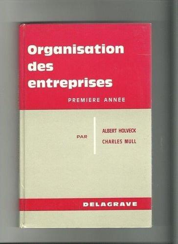 Organisation des entreprises, BEP 1