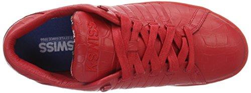 K-Swiss Lozan III TT Croco, Sneakers Basses Homme Rouge (Ribbon Red/Juniper 639)
