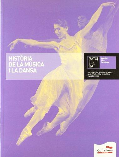 Història de la música i la dansa (Libros de texto) - 9788498046458