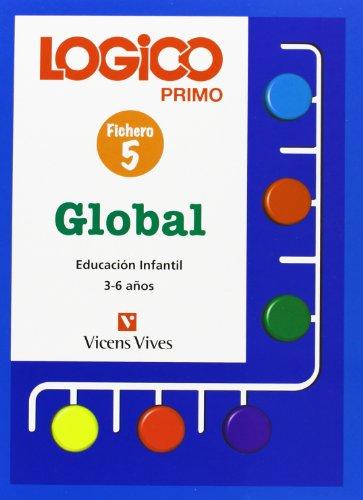 Logico Primo Global 5. Fichas Educacion Infantil 3-6 Años. - 9788431645830