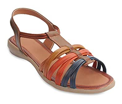 4e3603f54a9 ... peterpapa Casual Sandals for Women - Fashionable   Comfortable Sandals  for Girls