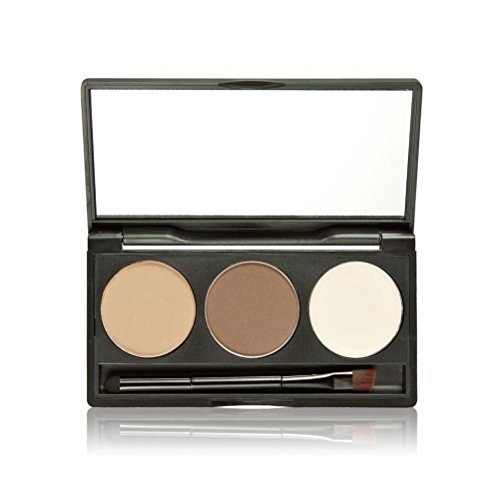ROSENICE Sopracciglio polvere Palette correttore sopracciglio ombra cosmetici trucco tavolozza