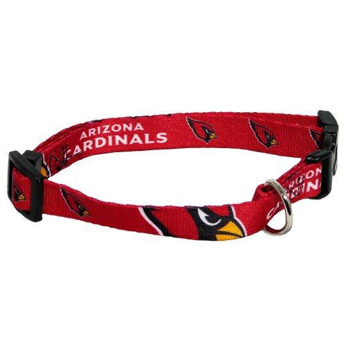 hunter-mfg-arizona-cardinals-dog-collar-large-by-nfl