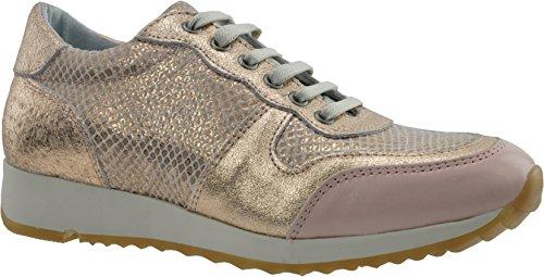 JJ Footwear Chaussures Femme en cuir Bermuda loin couleur chair