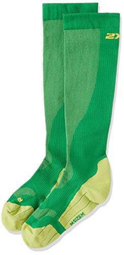 2XU Performance Run Sock verde MA2442EFGN taglia: S Verde - Verde