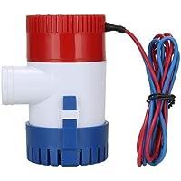 Bomba de agua sumergible NUZAMAS para caravanas, barcos, piscinas y fuentes 12 V 1100GPH, 29mm
