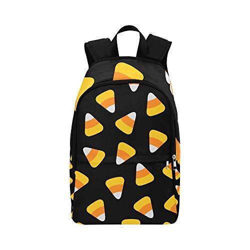 Grünes und gelbes reifes Mais-Gemüse-zufällige Daypack-Reisetasche College-Schulrucksack für Männer und Frauen