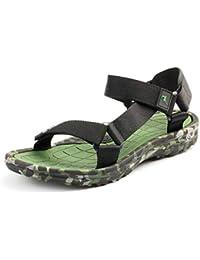 fa51d18e8 Hombres Playa Sandalias Verano Camuflaje Zapatos de Agua de Moda Deportes  al Aire Libre Pisos Gladiador