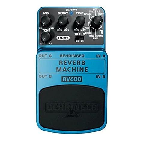 Behringer REVERB MACHINE / RV600 Pédale d'effet de modélisation de
