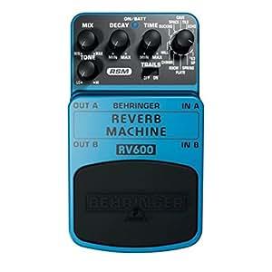 Behringer REVERB MACHINE / RV600 Pédale d'effet de modélisation de reverb