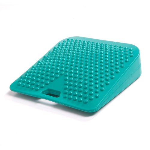 PhysioRoom-Junior-Seat-Wedge-Reduce-Back-Pain-Stress-on-Lower-Back-ADHD-Active-Sitting-Latex-Free-PVC-Improves-Concentration-Home-School-Supports-Correct-Posture-Stability-AB9201