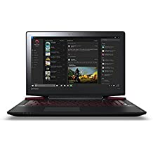 "Lenovo Ideapad Y700-15ISK - Portátil de 15.6"" Full HD (Intel Core I7-6700HQ, RAM de 8 GB, HDD de 1 TB, Nvidia Geforce 960M de 4 GB, Windows 10 Home) negro - teclado QWERTY Español"