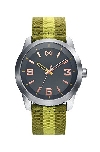 Mark Maddox Mens Analogue Quartz Watch with Nylon Strap HC0100-45