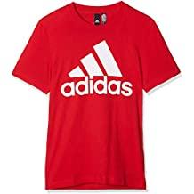 Shirt T Rosso Adidas Amazon it aBqxw8S