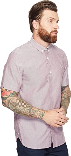 Fred Perry - Fred Perry Oxford chemise classique anthracite foncé pour homme Carbone sombre