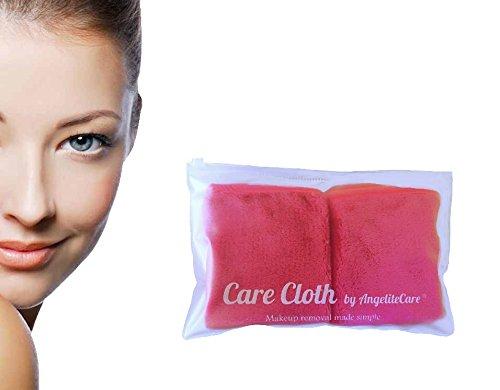 make-up-entferner-soft-mikrofasertuch-mit-tragbaren-badetasche-2er-pack-steig-rot