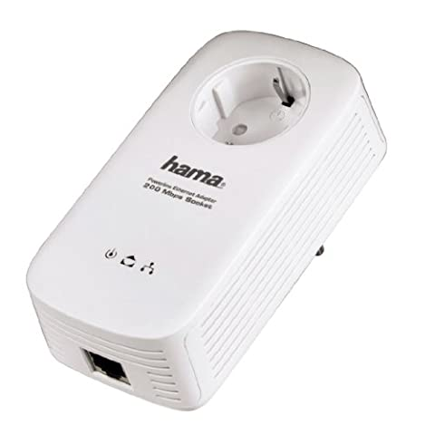 Hama Powerline-LAN Set 200 Mbps Socket